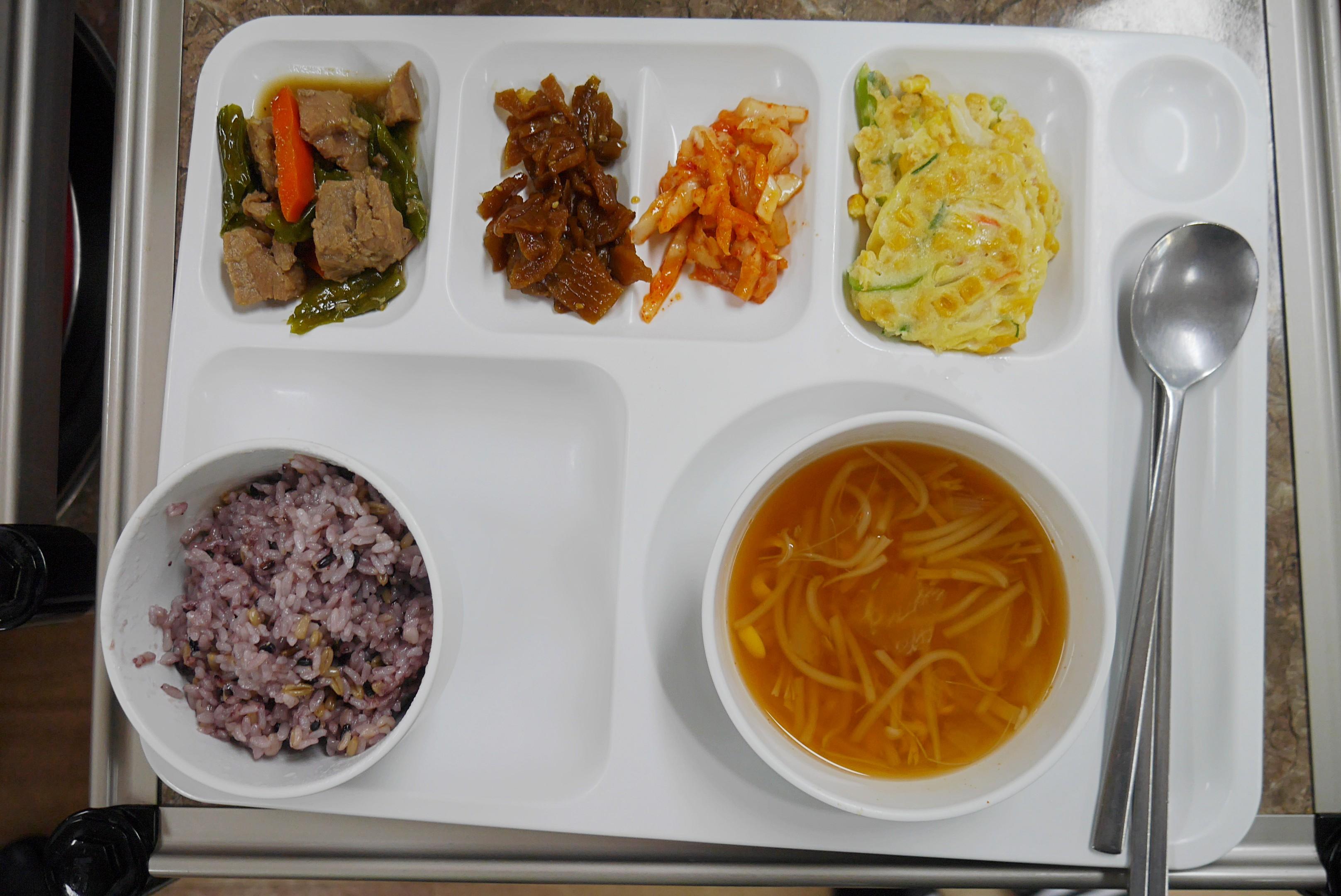 주야간보호센터 3월 저녁식사 사진입니다.