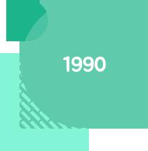 1990 연혁